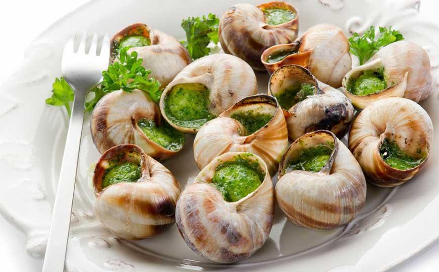 Escargots, Garlic and Absinthe Butter