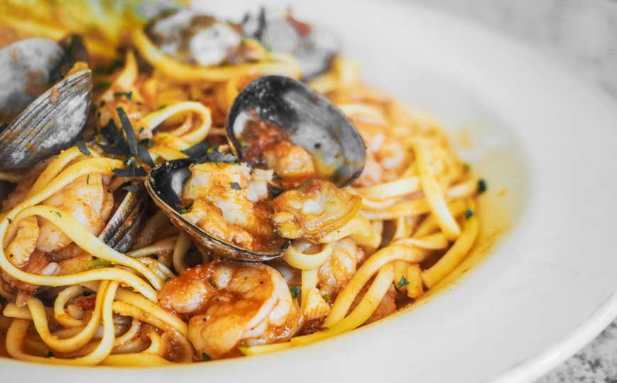 Delicious Dish - Pasta with Mussels