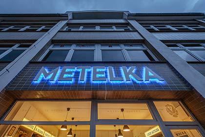 Front of Metelka Liquor Store